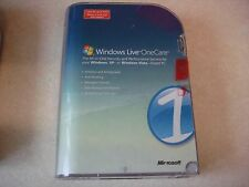 Windows Live OneCare 1.5 Microsoft Software
