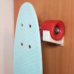 Skateboard Wall Hooks : White