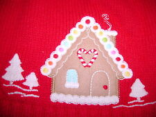 NWT Gymboree Cozy Cutie snowman gingerbread house holiday sweater cardigan 4t 4