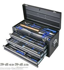 BOXO ECC20301BK Werkzeugkoffer 94tl Profi Koffer Werkzeugkasten 3 Schubladen TOP