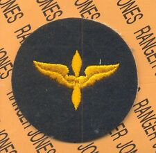USAAF Army Air Force cadet Training command wool shoulder jacket patch #2