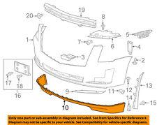 Cadillac GM OEM 15-16 Escalade Front Bumper-Spoiler Lip Chin Splitter 22968432
