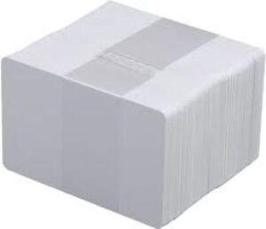 2000 x Blank White PVC Plastic ID Cards CR80 760 Micron 30mil Economy Cards