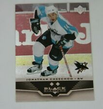 05/06 UD Black Diamond Double Diamond Base Card Jonathan Cheechoo