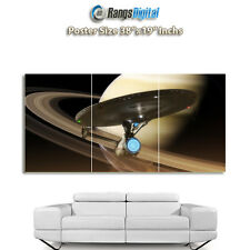 "Star Trek Uss Enterprise Hd Foto Cartel rd-9231 (38 ""x19"" pulgadas)"