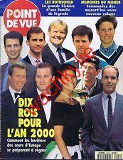 Point de vue n°2423 du 11/01/1995 Futurs rois Hôtel de Beauharnais Rothschild