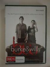Burke & Wills DVD. Brand new and sealed. Torr/Zeremes. Region 0 PAL.