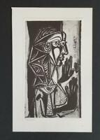 Pablo Picasso Women at the Window  Mounted Lithograph 1973 Platesigned