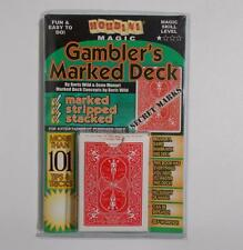 Gambler's Marked Deck Houdini Magic Cards Booklet