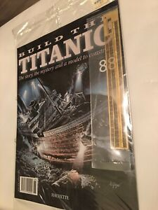 1/250 Hachette Build The Titanic Model Ship Issue 88 Inc Part Pictured.