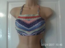 GREEN SIZE 12  BIKINI TOP BY MARKS AND SPENCER