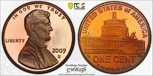 2009-S LINCOLN BICENTENNIAL PENNY PCGS PR68RD TONED FINEST KNOWN GRADE WORLDWIDE