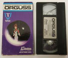 Orguss Vol. 1 (VHS, 1992)