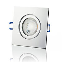 LED Einbaustrahler 230V IP44 Badleuchte Außen Feuchtraum Decken-Spot - lambado®