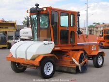 2013 Broce RJT350 8' Broom Street Sweeper A/C Cab Deere Diesel bidadoo