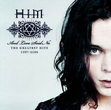 "HIM ""AND LOVE SAID NO-GREATEST HITS"" CD NEUWARE!!!!!!!!"