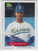 1991 CLASSIC BEST PEDRO MARTINEZ #355 SAN ANTONIO MISSIONS/L.A. DODGERS