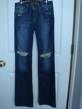 JOE'S Women's Distressed Bootcut Jeans Size 24 Collector's Edition New With Tag