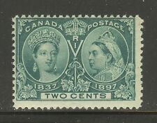Canada # 52, 1897 2c Queen Victoria - Diamond Jubilee Issue, Unused NH