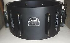 New Pearl Signature JJ snare drum shell with mounted hardware: 6.5 x 13,  8 lug