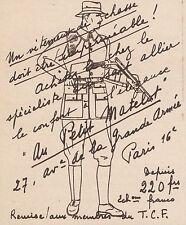 Z9674 Au Petit Matelot - Paris -  Pubblicità d'epoca - 1934 Old advertising