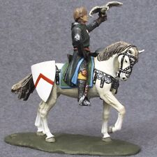 Toy Soldiers Painted Knight Mounted 1/32 scale Infantryman Miniature Cavalryman