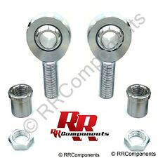 """7/8-14 Thread x 3/4 Bore, Chromoly Panhard Heim Joint (Bung Fits 1-1/2"""" ID Hole)"""