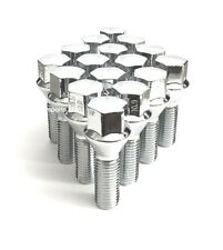 (20) 12x1.25 ACORN CHROME CONICAL CONE SEAT WHEEL LUG BOLTS 40MM SHANK EXTENDED