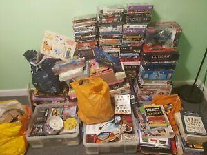 Large Mixed Joblot Carboot 100s Games Toys DVD CD DIY Books etc