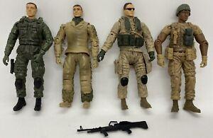 "BBI Elite Force Military Action Figures Bundle Bluebox Toys 3.75"" Soldiers"