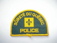 Quebec Canada Police Patch