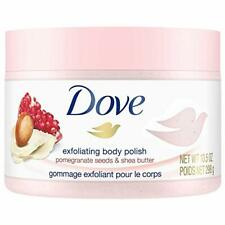2 Dove Exfoliating Body Polish Body Scrub Pomegranate Seeds and Shea Butter