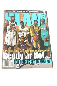 SLAM Magazine KOBE BRYANT ROOKIE! February 1997 Ready or Not 1st issue VG/F