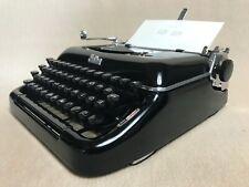 Erika 10 Tab Schreibmaschine schwarz typewriter portable
