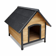 Dog Kennel Timber House Extra Large Wooden Pet Log Wood Cabin Indoor Outdoor