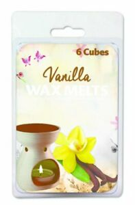 144 (24 x 6 Pack) Vanilla Wax Melts / scented candles for perfect home Aroma - W