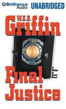 FINAL JUSTICE (Badge Of Honor) unabridged CD by W.E.B. GRIFFIN Brand New! 16 hrs