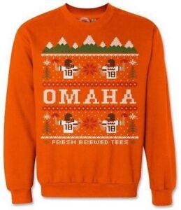 Peyton Manning Denver Broncos Ugly Sweater Sweatshirt (L)