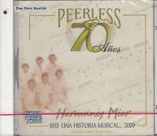 Los Hermanos Mier Peerless 70 Años CD New Nuevo Sealed