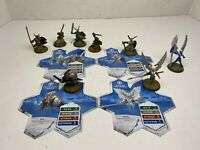 Heroscape - Rise of the Valkyrie - Jandar Lot of 8 - Tarn Finn Thorgrim Raelin