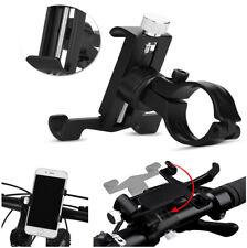 Bike Bicycle Motorcycle Handlebar Cell Phone Stand Bracket Aluminum Mount Holder