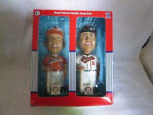 Cal Ripken Jr. Bobble Dobbles Twin Bobbleheads 1981 & 2001 SetOrioles Ltd Ed
