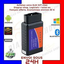 ELM327 OBD2 Bluetooth Car Diagnostic Scanner CAN-BUS ANDROID FR VAG COM AUTOCOM