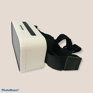 VR Virtual Reality Headset Sharper Image White/Black for Smartphone