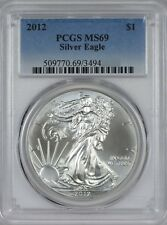 2012 American Silver Eagle PCGS MS69 - Twenty Coins