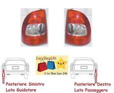 2 FARO FANALE FANALINO POSTERIORE PER FIAT STRADA PICK UP 03 GRUPPO OTTICO STOP