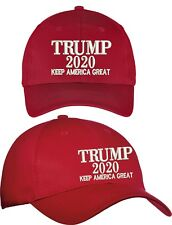 Trump 2020 Hat Keep America Great - USA HAT Cap SOLID