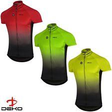 DEKO Mens Cycling Jersey Half Sleeve Bike/Bicycle top jersey Short Sleeves