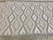 SUPER LUXURIOUS LIGHT BROWN CHENILLE UPHOLSTERY FABRIC 3 METRES