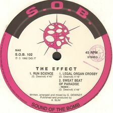 THE EFFECT - Run Science - S.O.B. (Sound Of The Bomb)
